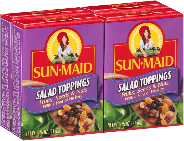 Sun-Maid® Fruits, Seeds & Nuts with a Hint of Hickory Salad Toppings