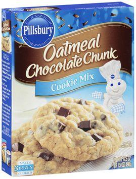 pillsbury® oatmeal chocolate chunk cookie mix