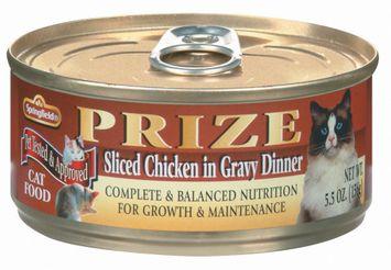 Springfield Prize Sliced Chicken in Gravy Dinner Cat Food