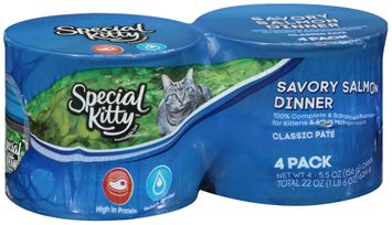 Special Kitty™ Savory Salmon Dinner Wet Cat Food