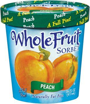 Whole Fruit® Peach Sorbet