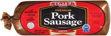 Stater bros Pork Hot Sausage