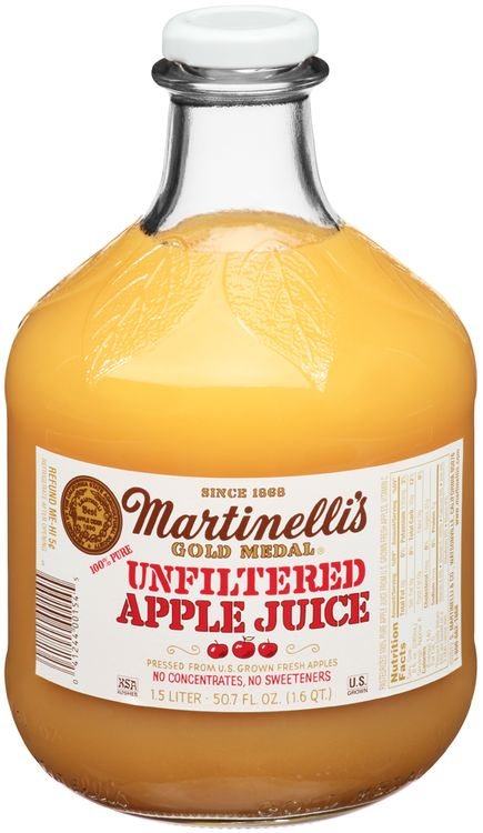 Martinelli's Gold Medal® 100% Pure Unfiltered Apple Juice