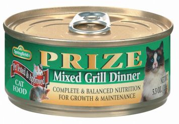 Springfield Prize Mixed Grill Dinner Cat Food