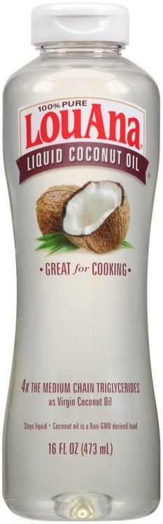 LouAna® 100% Pure Liquid Coconut Oil