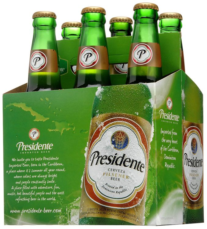 presidente imported beer
