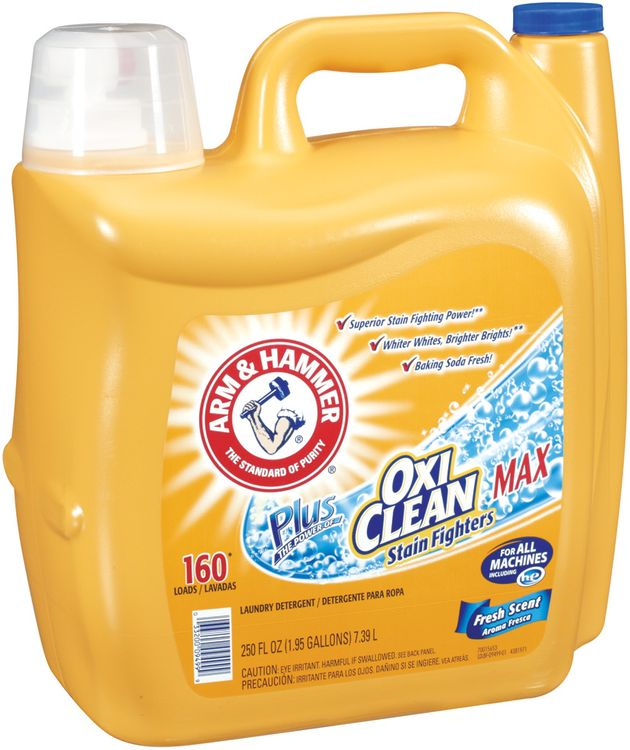 ARM & HAMMER™ Plus OxiClean Max Fresh Scent Laundry Detergent