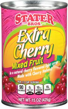 Stater bros® Extra Cherry Mixed Fruit