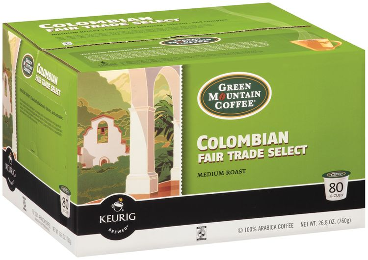 Green Mountain Coffee® Colombian Fair Trade Select Medium Roast Coffee K-Cups