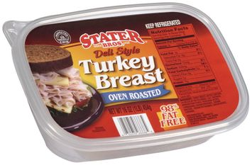 stater bros® deli style oven roasted turkey breast
