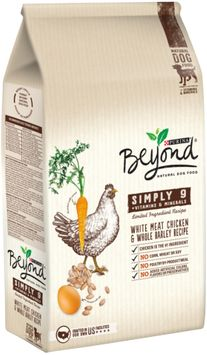 Purina Beyond Simply 9 White Meat Chicken & Whole Barley Recipe Dog Food Bag