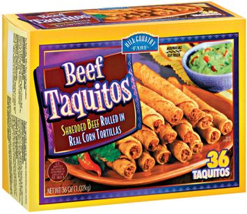 Delimex Beef 36 Ct Hill Country Fare Taquitos