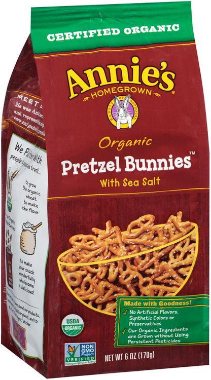 Annie's®  Homegrown  Organic Pretzel Bunnies