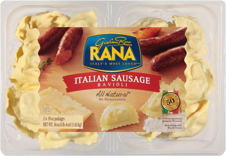 Rana® All Natural Italian Sausage Ravioli