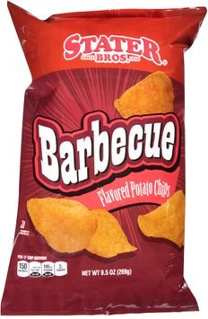stater bros® barbecue flavored potato chips