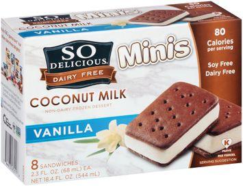 So Delicious Vanilla Sandwiches