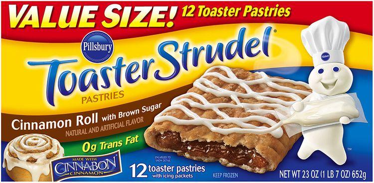 Pillsbury Toaster Strudel® Cinnamon Roll Toaster Pastries 12 ct. Box
