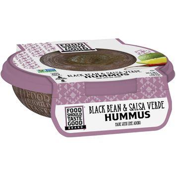 Food Should Taste Good Black Bean & Salsa Verde Hummus