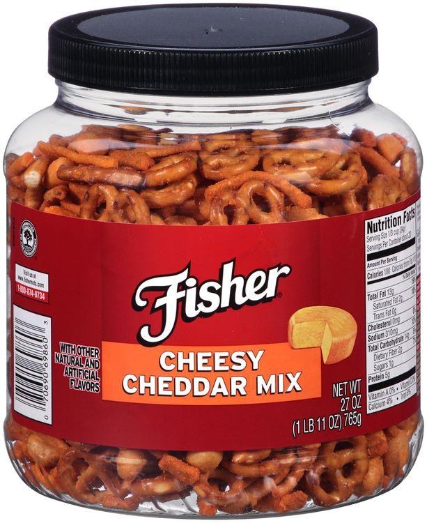 Fisher® Cheesy Cheddar Mix
