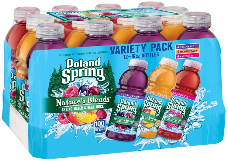 Poland Spring® Nature's Blends™ Spring Water & Real Juice Variety Pack 1