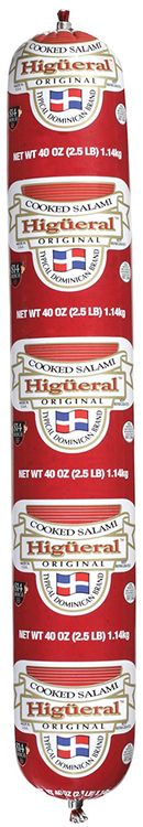 higueral™ original cooked salami
