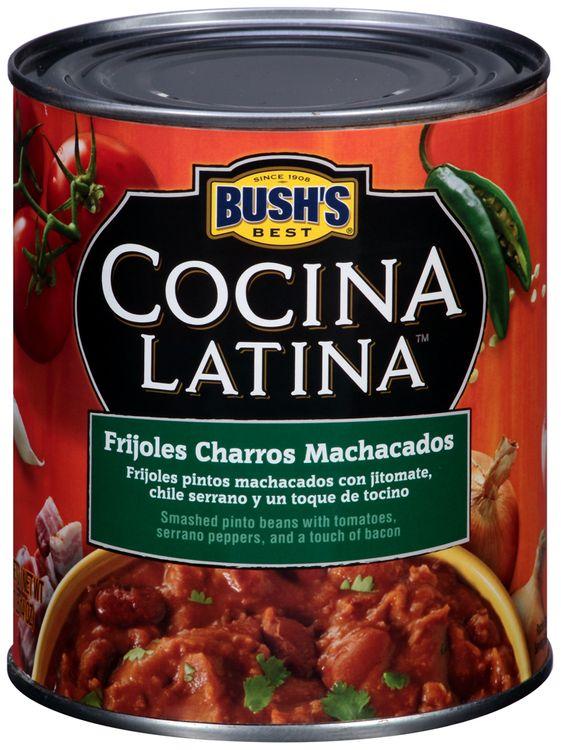 Bush's Best® Cocina Latina™ Frijoles Charros Machacados