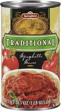 Springfield® Traditional Spaghetti Sauce