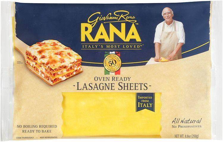 rana™ all natural oven ready lasagne sheets