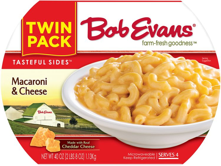 Bob Evans® Tasteful Sides™ Twin Pack Macaroni & Cheese Refrigerated Sides