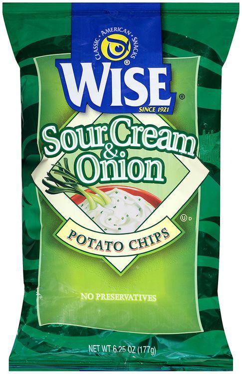 Wise Sour Cream & Onion Potato Chips