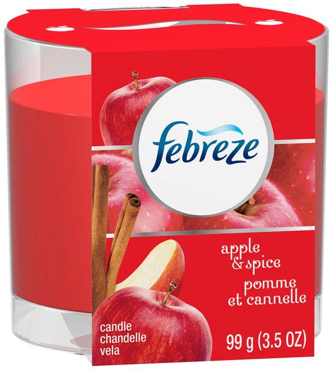 Febreze® Apple & Spice Air Freshener Candle