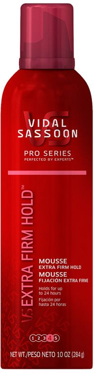 Vidal Sassoon Pro Series Extra Firm Hold Mousse