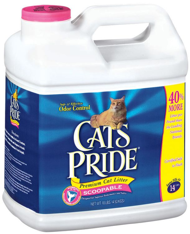 Cat's Pride Premium Cat Litter Scoopable