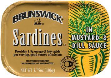 Brunswick In Mustard & Dill Sauce