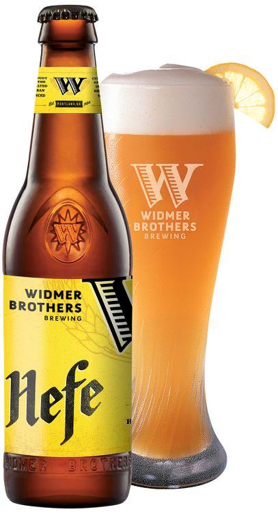 Widmer Brothers Brewing Hefeweizen Beer