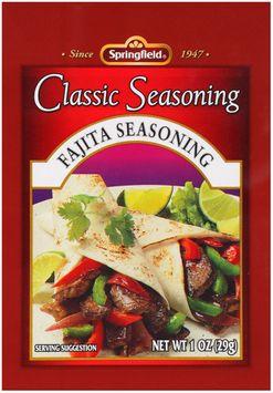 Springfield® Fajita Seasoning Classic Seasoning