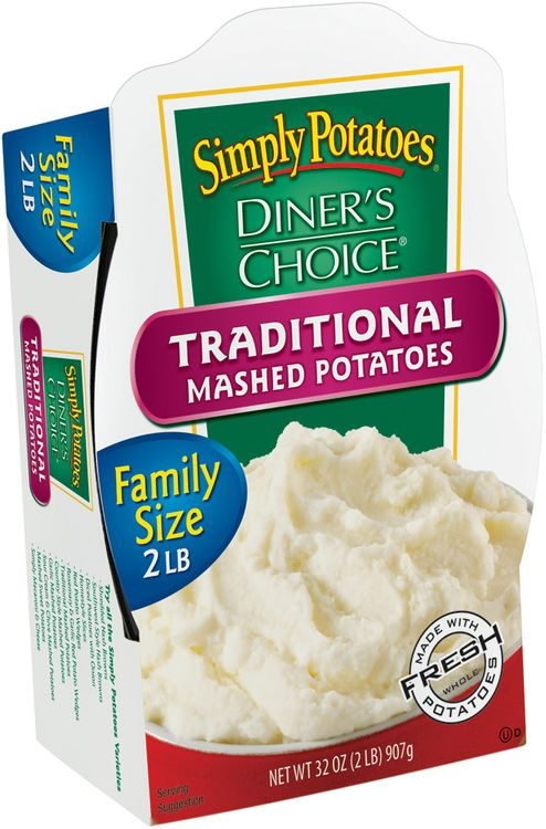 Simply Potatoes/Diner's Choice Traditional Mashed Potatoes