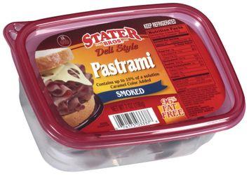 stater bros® deli style smoked pastrami