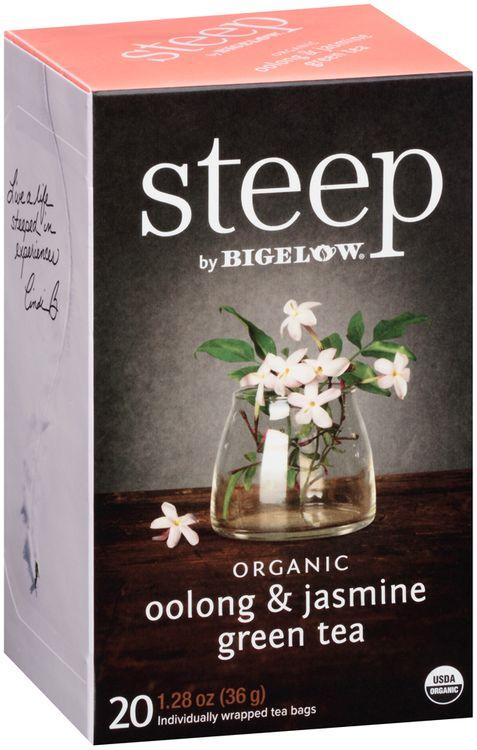 Steep by Bigelow® Organic Oolong & Jasmine Green Tea 20 cts