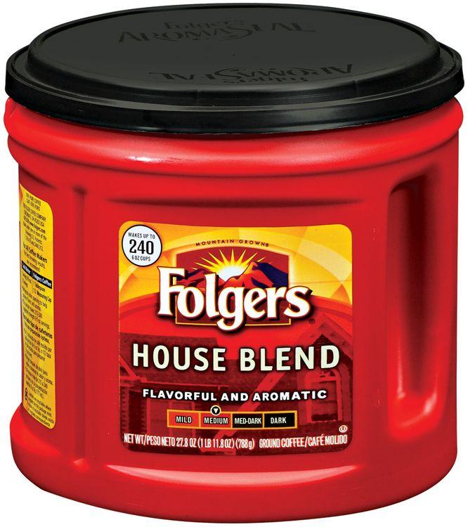 Folgers House Blend Medium Ground Coffee