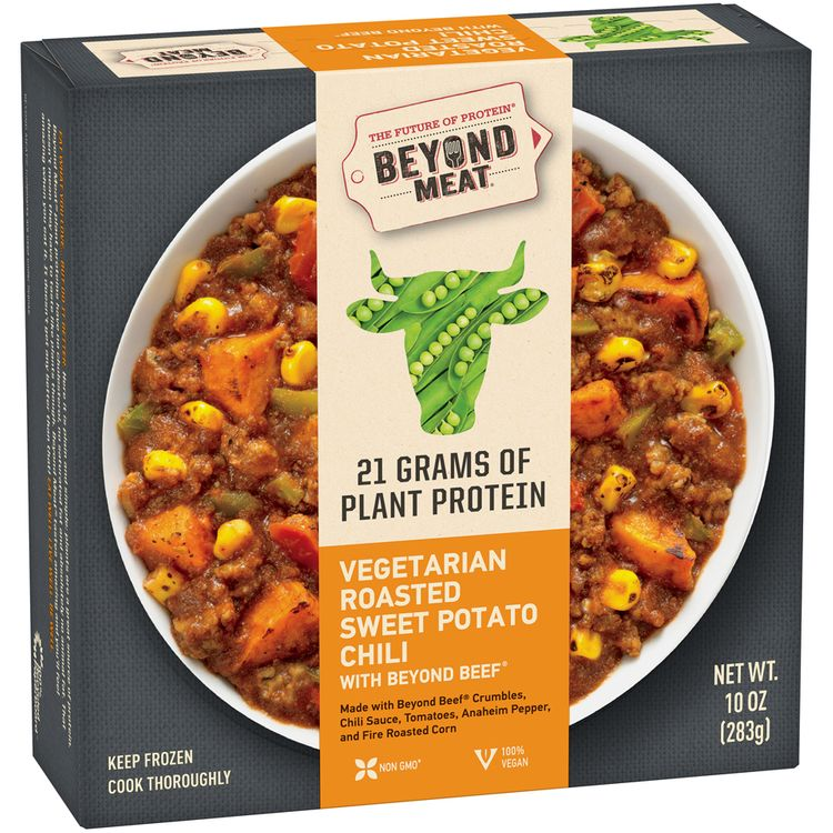 Beyond Meat® Vegetarian Roasted Sweet Potato Chili with Beyond Beef®