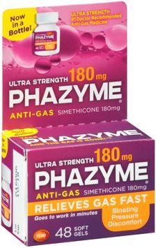 Phazyme® Ultra Strength Anti-Gas Soft Gels 48 ct Box