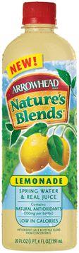 Arrowhead Nature's Blends Spring Water & Real Juice Lemonade