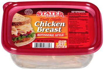 Stater bros® Deli Style Chicken Breast Rotisserie Style