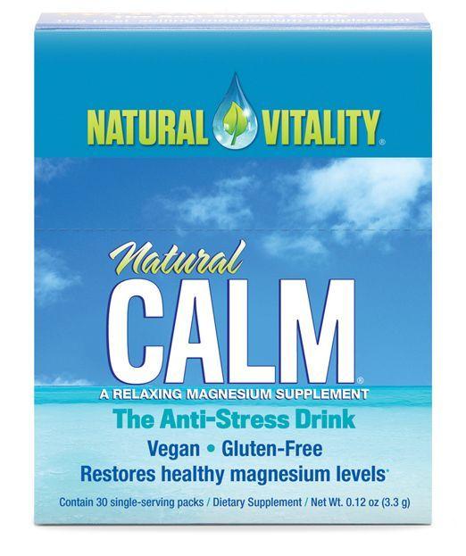 Natural Vitality Natural Calm Packs