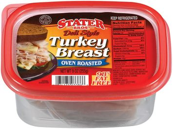 Stater bros Deli Style Oven Roasted Turkey Breast