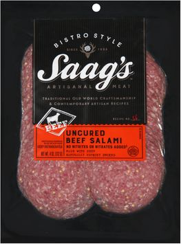 Saag's™ Bistro Style Uncured Beef Salami