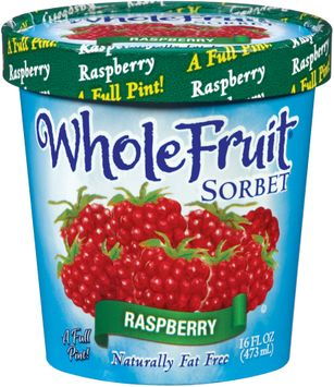 Whole Fruit® Raspberry Sorbet