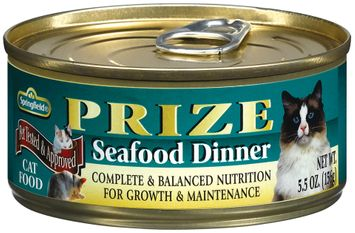 Springfield Prize Seafood Dinner Cat food
