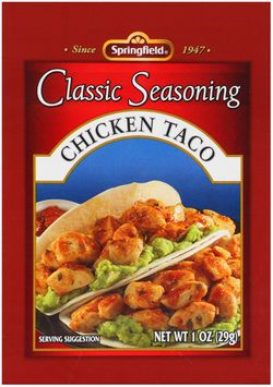 Springfield® Chicken Taco Classic Seasoning